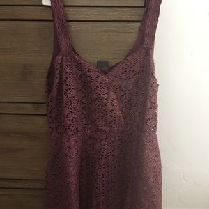 Free People Beach Women's Purple Romper Size M